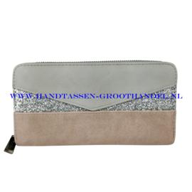 N18 portemonnee Mandoline 198 pink (roze)