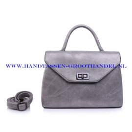 N103 Handtas Qischa 1681457m zilver