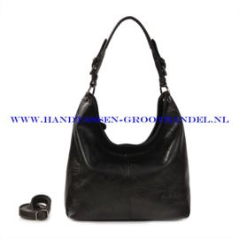 N72 Handtas Ines Delaure 1682087 zwart