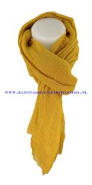 N5 sjaal enec-631 moutarde (mosterd - geel)