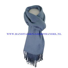 N21 sjaal ENEC-808 jeans (blauw)