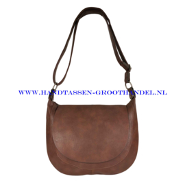 N32 Handtas Flora & Co 6723 chocolat (bruin)