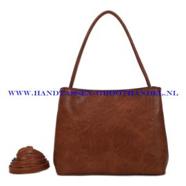 N73 Handtas Ines Delaure 1682719 camel