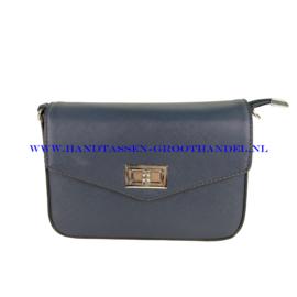 N33 Handtas Flora & Co 6529 blauw