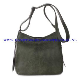 N72 Handtas Ines Delaure 1681669 kaki (groen)