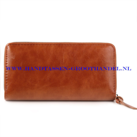 N60 portemonnee Ines Delaure B002 fauve (oranje - camel)