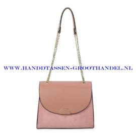 N88 Handtas Ines Delaure 1682720 blush (roze)