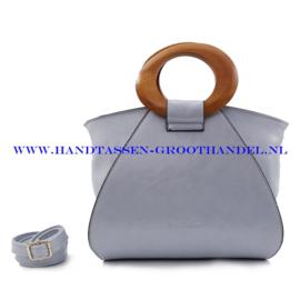 N73 Handtas Ines Delaure 1682209 dragée (blauw)