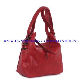 N35 Handtas Ines Delaure 1682132 marsala (rood)