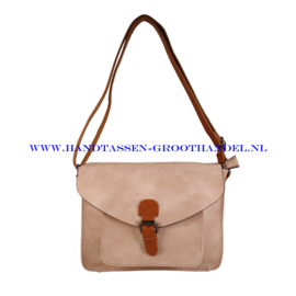 N115 Handtas Flora & Co 6711 rose pale (roze)