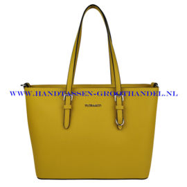N39 Handtas Flora & Co F9126 moutarde 363 (geel)