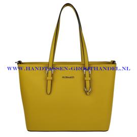 N39 Handtas Flora & Co F9126 moutarde 363 (geel)