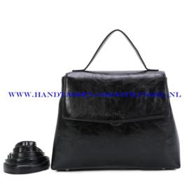 N39 Handtas Ines Delaure 1682841 zwart