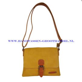 N27 Handtas Flora & Co 6733 moutarde (mosterd - geel)