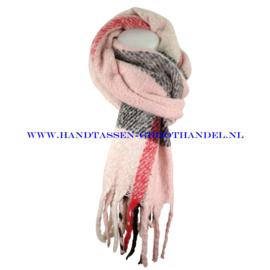 N15 sjaal 1883 roze