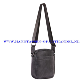 N34 Men bag Blue Smith 128012 grijs
