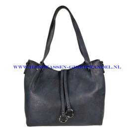 N113 Handtas Flora & Co 5679 blauw