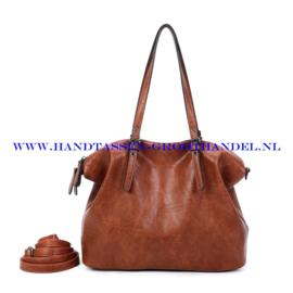 N39 Handtas Ines Delaure 1682870 camel