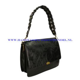 N72 Handtas Mandoline md-7182 zwart