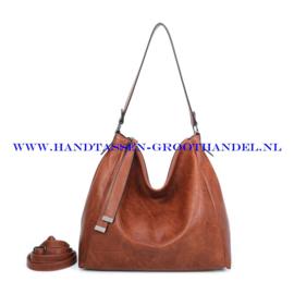 N39 Handtas Ines Delaure 1682868 camel