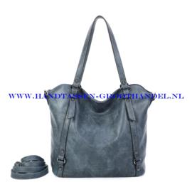 N117 Handtas Ines Delaure 1682863 bleu stone (blauw)