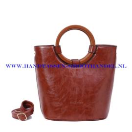 N73 Handtas Ines Delaure 1682205 camel