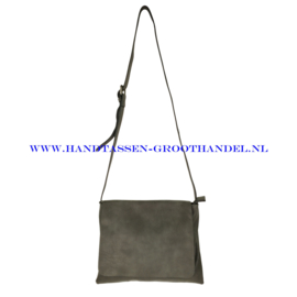 N91 Handtas Flora & Co 7965 gris fonce (grijs)