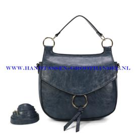N107 Handtas Ines Delaure 1682477 bleu horizon (blauw)