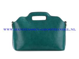 N35 Handtas Ines Delaure 168018 emeraude (groen)