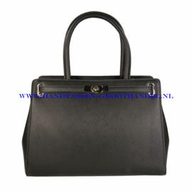 N36 Handtas Flora & Co 6549 zwart