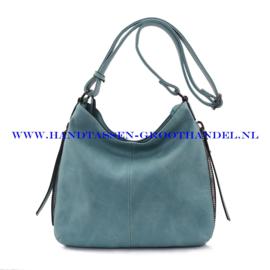 N72 Handtas Ines Delaure 1681669 turquoise (groen - blauw)