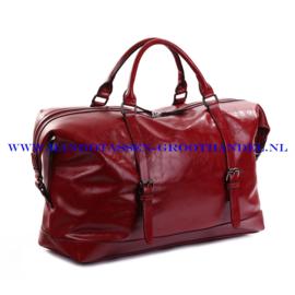 N39 Weekendtas-sporttas Ines Delaure 168479 rood