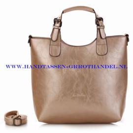 N72 Handtas Ines Delaure 168168 dore (goud)