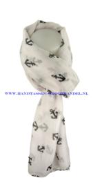 N5 sjaal enec-1043 wit
