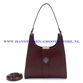 N72 Handtas Ines Delaure 1682517 marsala (rood - bordeaux)