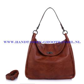 N38 Handtas Ines Delaure 1682253 camel