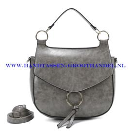N107 Handtas Ines Delaure 1682477 souris (grijs)