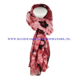 N7 Sjaal 7037 rood
