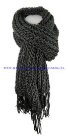N12 sjaal 1016 zwart