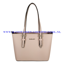N73 Handtas Flora & Co F9179 rose pale (roze)
