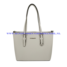 N73 Handtas Flora & Co 9179 wit