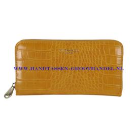 N20 portemonnee Flora & Co 2701 moutarde (mosterd - geel)