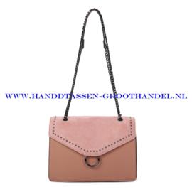 N103 Handtas Ines Delaure 1682736 blush (roze)