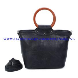 N39 Handtas Ines Delaure 1682852 blauw