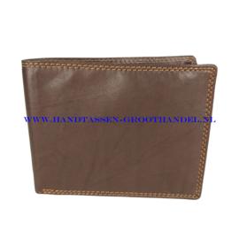 N24 portemonnee Qischa w29045 bruin