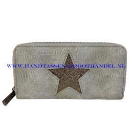 N18 portemonnee Mandoline 309 licht grijs