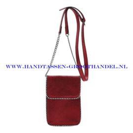 N21 Handtas Ines Delaure 16822592 rood