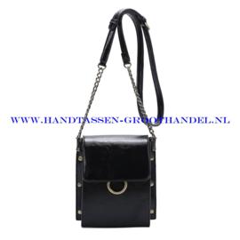N33 Handtas Ines Delaure 1682583 zwart