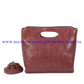 N38 Handtas Ines Delaure 1682627 bois de rose (roze)