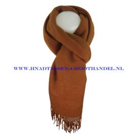 N21 sjaal ENEC-807 caramel (bruin)